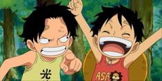 One Piece アニメ, Watch One Piece, One Piece Funny, One Piece Anime, Ace And Luffy, Little Brothers, One Piece Pictures, Wattpad, Funny Moments