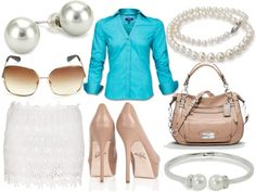 Preppy fashion, created by lchisner on Polyvore