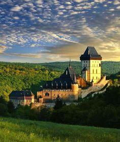 Karlštejn Castle, Czech Republic.  Interesting article: http://fiveminutehistory.com/PelesCastle