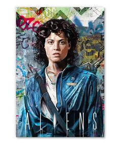 s Aliens, Ellen Ripley, Tableau Pop Art, Sigourney Weaver, Film, Movie Posters, Impressionism, Movie, Film Stock