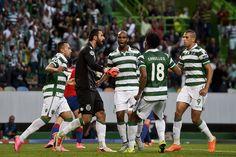 @Sporting leões #9ine Uefa Champions, Moscow, Baseball Cards, Sports, Portugal, Tops, Fashion, Hs Sports, Moda