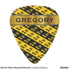Rock out with Black guitar picks & more guitar accessories from Zazzle. Choose your favorite design from our vast selection & strum your next song in style! Music Teacher Gifts, Music Teachers, Guitar Accessories, Guitar Picks, Music Lovers, Black N Yellow, Beams, Musicians, Music Instruments