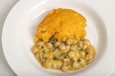 sweet potato and chickpea shepherd's pie