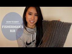 How to Knit - Fisherman's Rib - YouTube