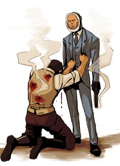 that heavy is a spy! that gives me feels, thats his best friend, and he think his best friend shot him, but its a spy.