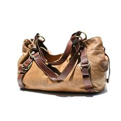 tan and brown large bag via Etsy