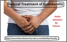 8 Natural Treatments of Epididymitis