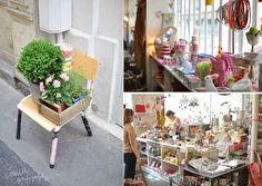 Boutique Les Fleurs à Paris