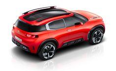 Citroen Officially Debuts Chunky-Looking Aircross Concept