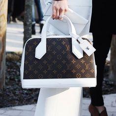 Clean whites @louisvuitton Snapchat ID: threads_styling #ThreadsStreetStyle #LouisVuitton | Use Instagram online! Websta is the Best Instagram Web Viewer!
