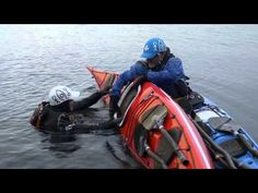 Master the Sea Kayak Scoop Rescue for Rolling Injured Paddlers Into Their Kayaks - YouTube