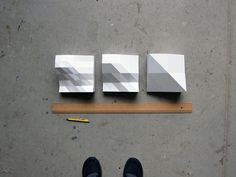 Sculpture de l'onde à la création par Peter Jellitsch