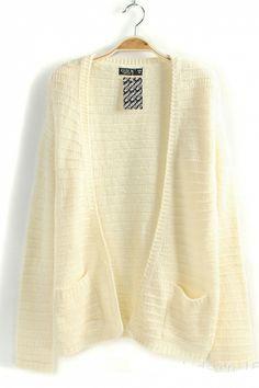 open pocket sweater