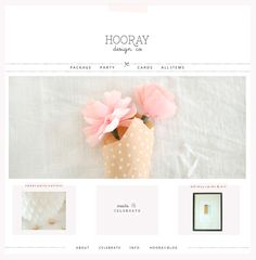 hooray - simple and cute #webdesign, given a little character with bits of tape