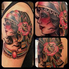 gypsy tattoo designs | Gypsy Tattoos, Designs And Ideas : Page 36 More