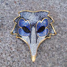 Venetian Raven Mask by merimask on deviantART