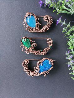 #wireart #wirejewelry #wirewrap #wirewrapjewelry #brooch #pin #shawlpin #wirebrooch #wirepin #oneofakind #jewelrybymirraling