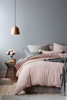Image result for bedroom scandi style
