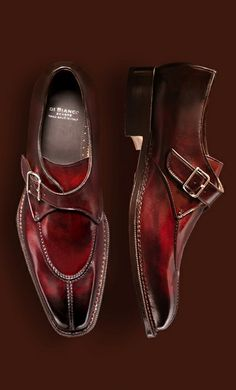 Very cool men's red/brown dress shoes