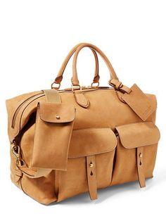 57996273057ae Vachetta Sahara Duffel Bag - Ralph Lauren Shop All - RalphLauren.com  Leather Work Bag