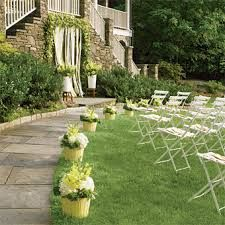 Image result for pink garden ceremony decor