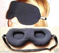 Sleep mask that doesn't  touch the eyes