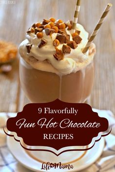 If you want to try hot chocolate that is sweeter, that is richer, that is a flavor you've never tried before, keep reading. These hot chocolate recipes are so enticing, you'll want to make them even when it isn't cold outside!