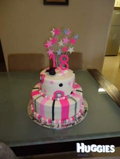 18th birthday cakes girl - Google Search
