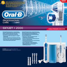 Oral B Braun Professional Care Center (Irrigator Oxyjet +2000) | Familypharmacy.gr