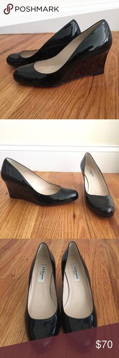BNWT LK Bennett Zahara wedges! Sz 36.5 Gorgeous brand new patent leather wedges from LK Bennett.  Still has protective film on soles. Never worn. Sz 36.5. Please know your Euro Sizing ❤ LK Bennett Shoes