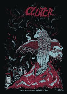 """""""December 2018 in Paris, France Tour Posters, Music Artwork, Holy Ghost, Cool Bands, The Rock, Rock N Roll, Metal Pins, Pure Products, Paris France"""