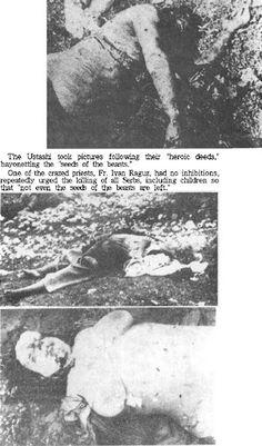 Croatia ww2 Serbian victims. Hrvatska,genocid nad Srbima.