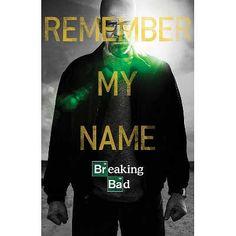 "Breaking Bad - ""Remember My Name"" #BreakingBad #gifts"