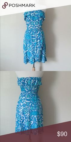 Lilly Pulitzer Sailors Valentine Flor Maxi Dress Worn once! EUC. Size Large. Lilly Pulitzer Dresses