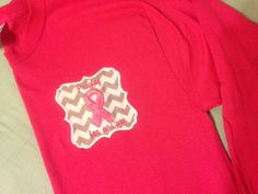 Breast Cancer Awareness Shirt Long Sleeved by BayBaysBoutique, $30.00