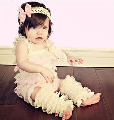 Pink baby clothes