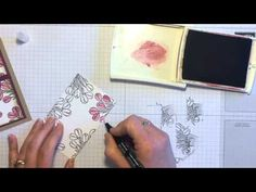 Coloring Love is Kindness with a Blender Pen - Stamp with Jodi