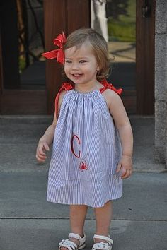 The sweetest dress for a little girl from one of my favorites...
