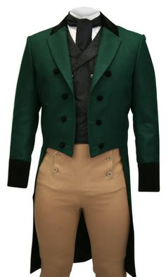 Green Tailcoat - don't think I'd ever wear it, but wow!
