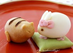 // Japanese Wagashi // In love with Japanese sweets love their attention to detail.