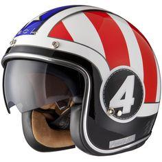 Black Judge Limited Edition Motorcycle Helmet