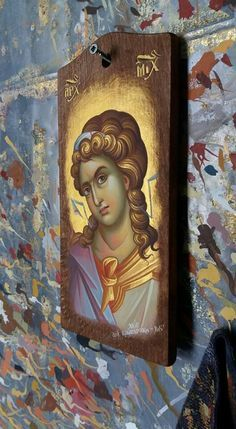 Image result for ikon angels Byzantine Icons, Byzantine Art, Religious Images, Religious Art, Archangel Michael, Orthodox Icons, Mexican Art, St Michael, Michel