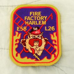 FDNY ENGINE 58 AND FDNY LADDER 26 PATCH (THE FIRE FACTORY)..... by themajestirium1