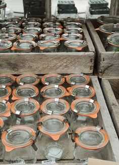 Weck Jars by Creature Comforts, via Flickr