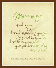 amen to this. marriage broken down to basic form. <3