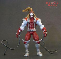 Omega Red Custom Action Figure by GrownNerd Base figure: ML Piledriver