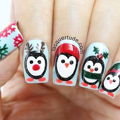 OMG…TOO CUTE! 'Holiday Penguins'