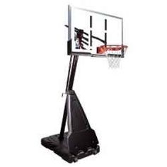 Homes and outdoors Spalding 54 Acrylic Portable Basketball System offers individuals to all ages a fun and competitive physical exercise. Spalding...