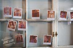 Barn wedding poliroid guest book. Wire framed vintage window. Mini clothespins. Rustic wedding. Barn wedding.