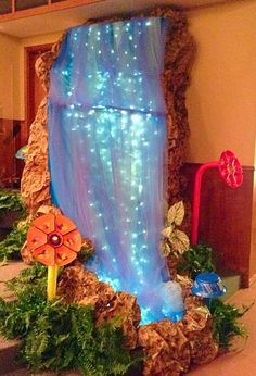 VBS 2015 Waterfall...love the look of this one!